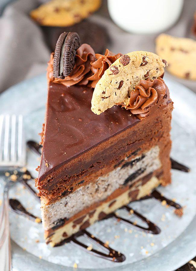Oreo Layer Cake No Bake