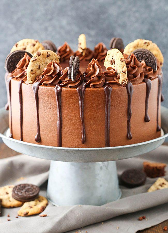 Chocolate Oreo Layer Cake Recipe