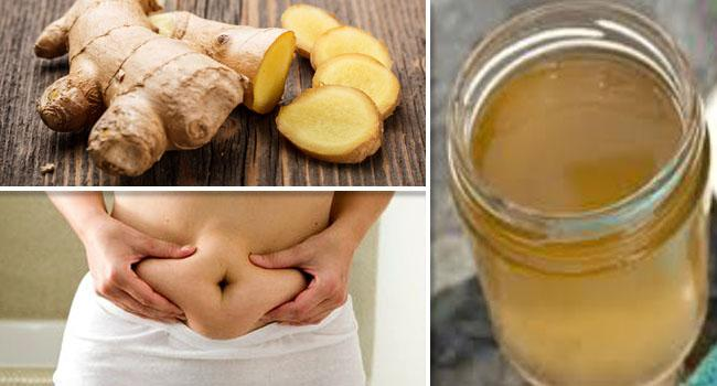 Lose belly fat with horseradish