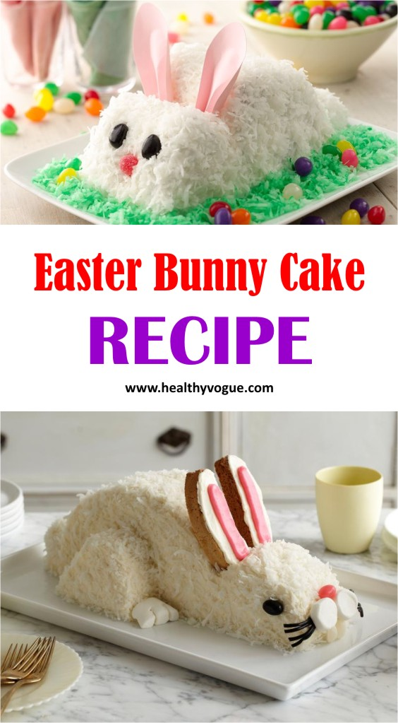 Easter Bunny Cake Pattern