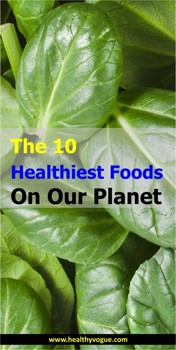 Healthiest Foods on Earth