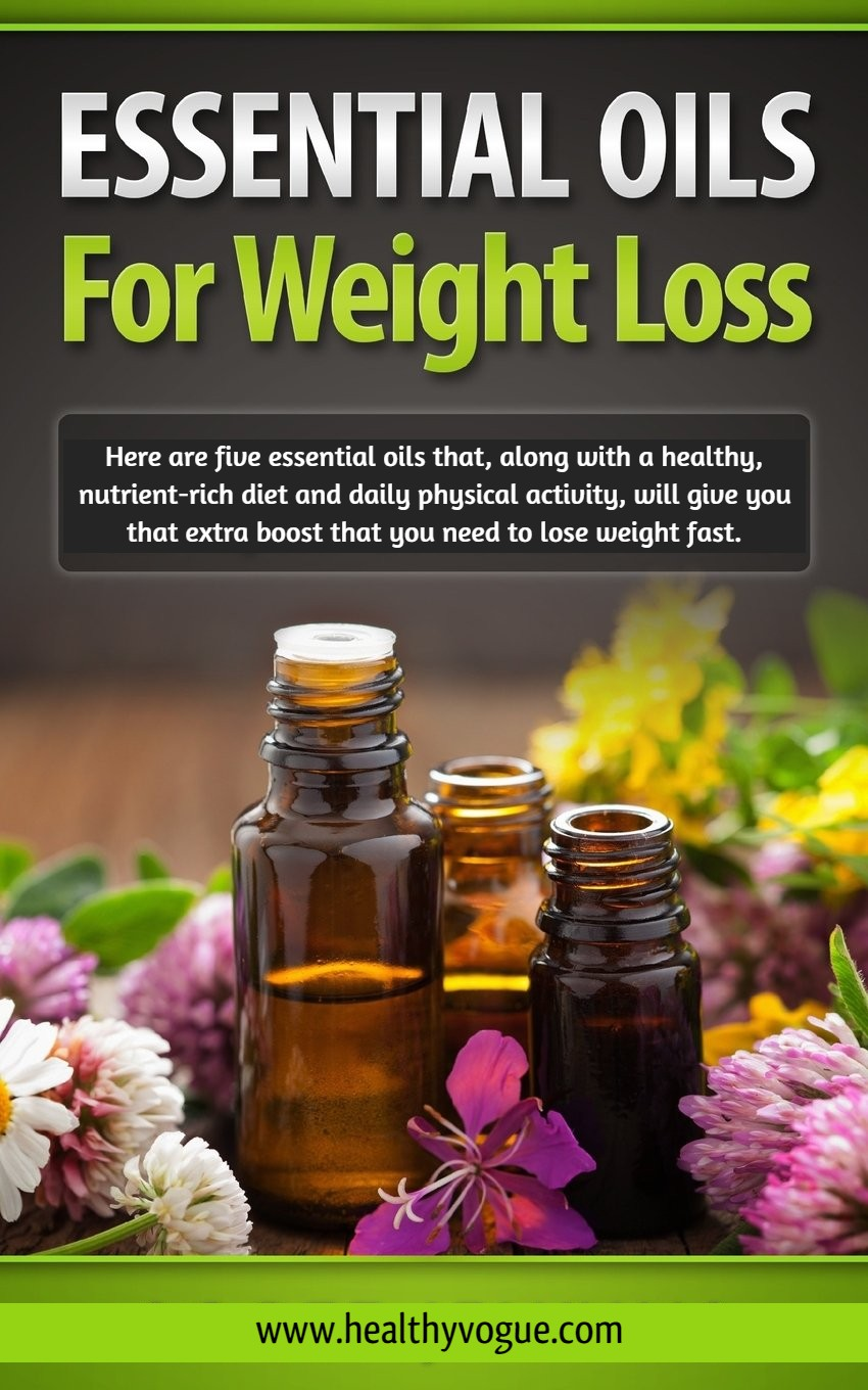 The ultimate beginners guide to lose weight and feel great with essential oils. #essentialoils #naturaltreatments #weightloss