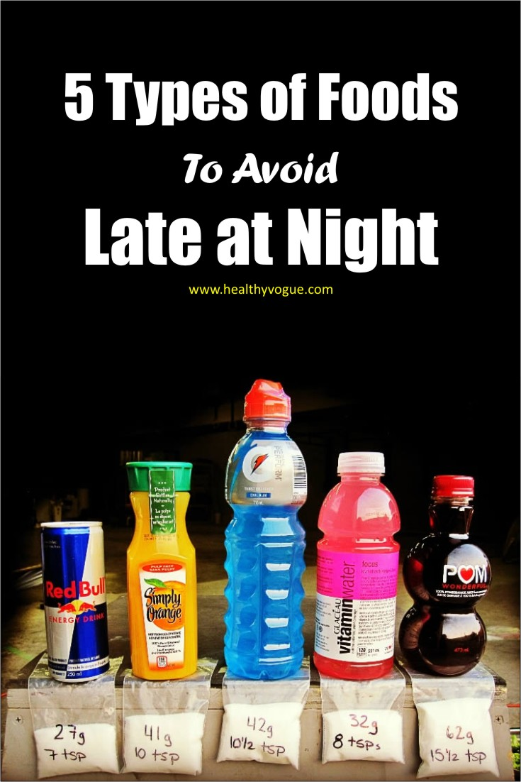 Here are the 5 foods that you must avoid eating before bed. #foodstoavoid #worstfoods