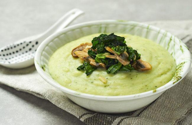 Potato Soup Recipe with Mushrooms