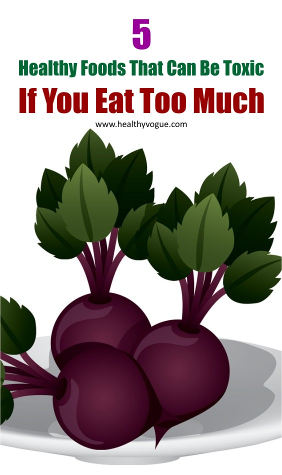 Foods Harmful If Eat Too Much