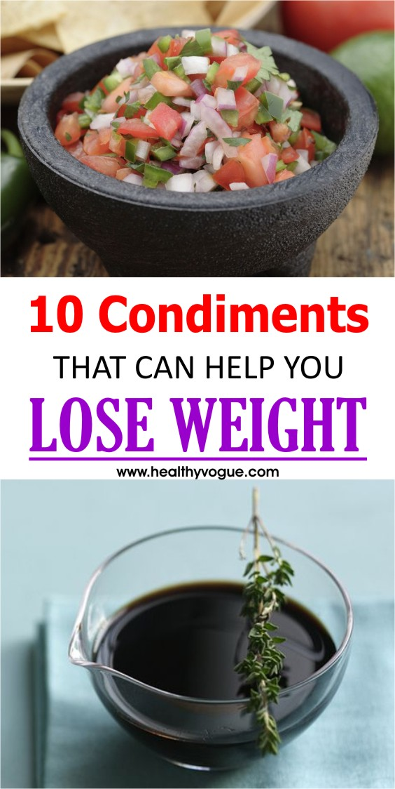 Condiments to Burn Belly Fat