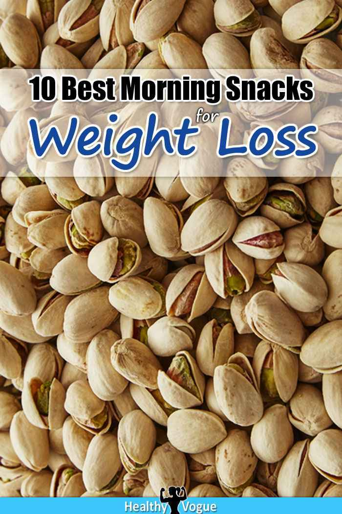 10 Best Morning Snacks For Weight Loss