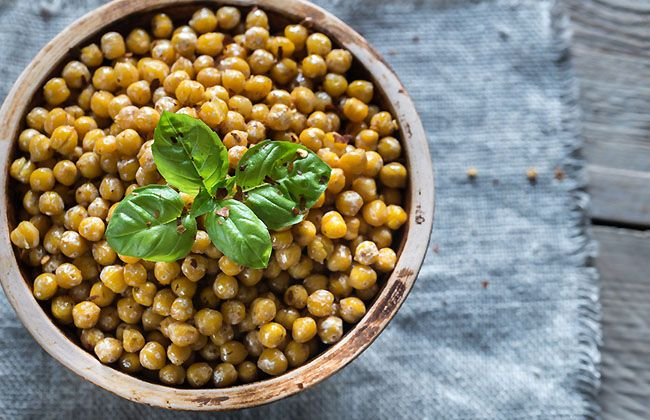 Fiber Content in Chickpeas