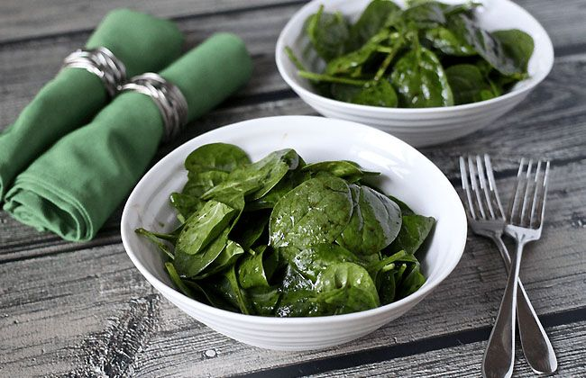 Spinach to Lose Weight
