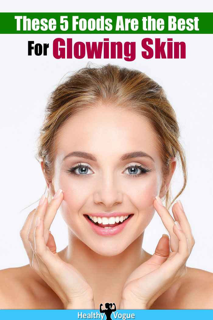 Food for Glowing Skin in a Month